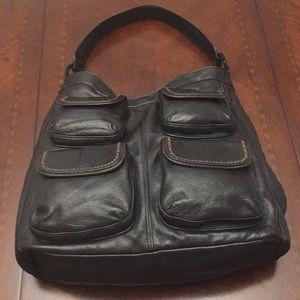 Banana Republic Genuine Leather Hobo (w/Dust Bag)